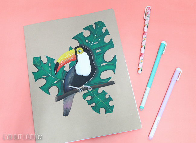 Make with Paint Toucan journal