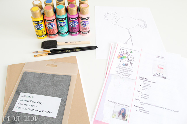 Make with Paint kit