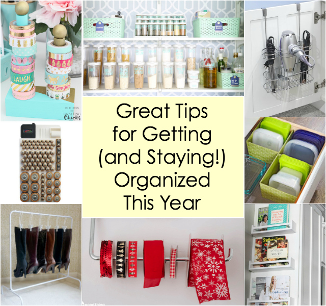 Genius Hacks to Get and Stay Organized