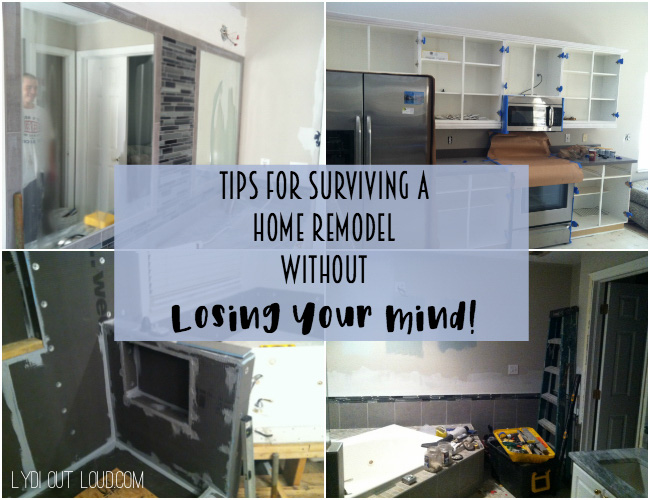 Tips for Surviving a Home Renovation Without Losing Your Mind