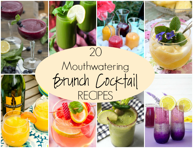 20 Mouthwatering Brunch Cocktail Recipes