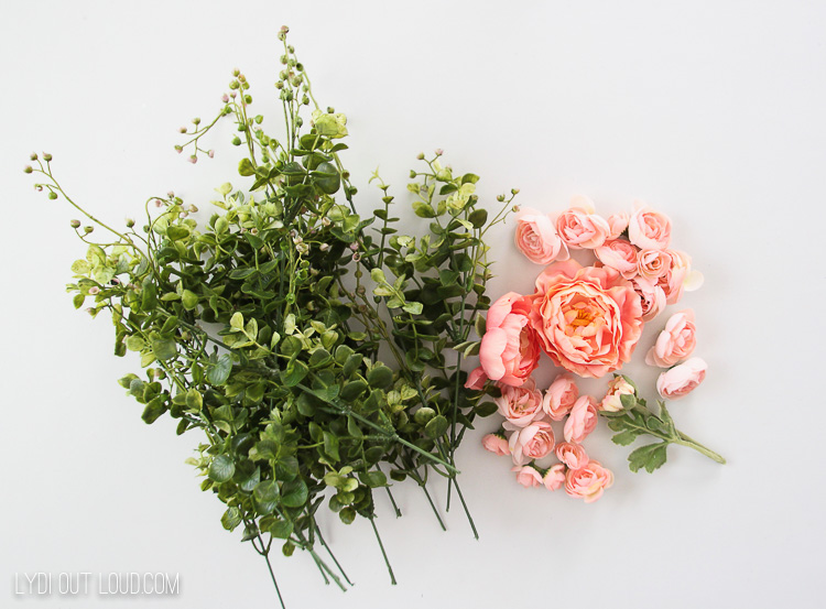 Eucalyptus and Ranunculus Wreath