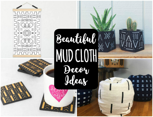 Beautiful Mudcloth Decor Inspiration