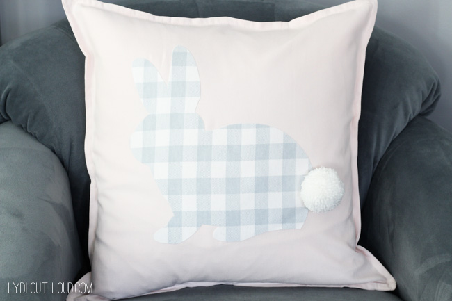 No-sew Rabbit Pillow
