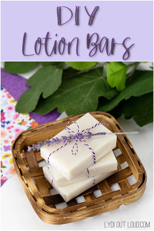 Lush Inspired DIY Lotion Bar Recipe via @lydioutloud