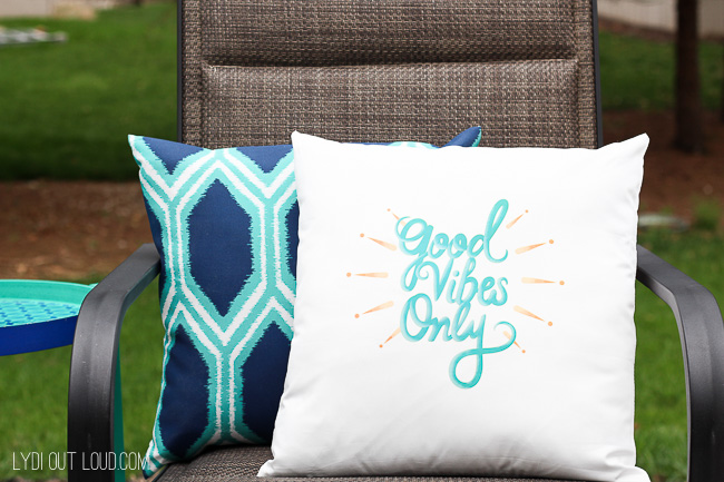 Create Unique Home Accessories in Minutes with Cricut Iron On Designs