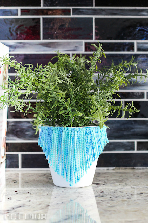 Macrame Herb Pot