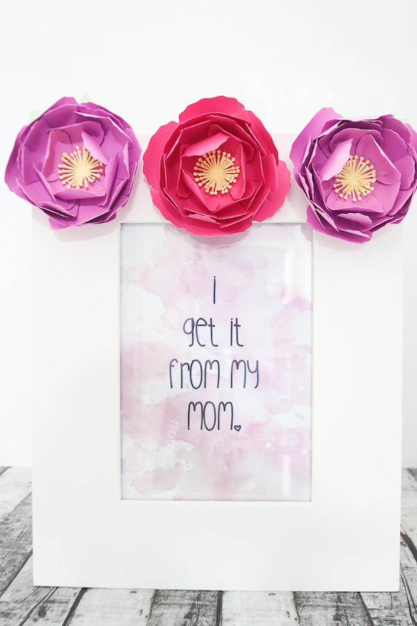 """I Get It From My Mom"" Mother's Day printable"