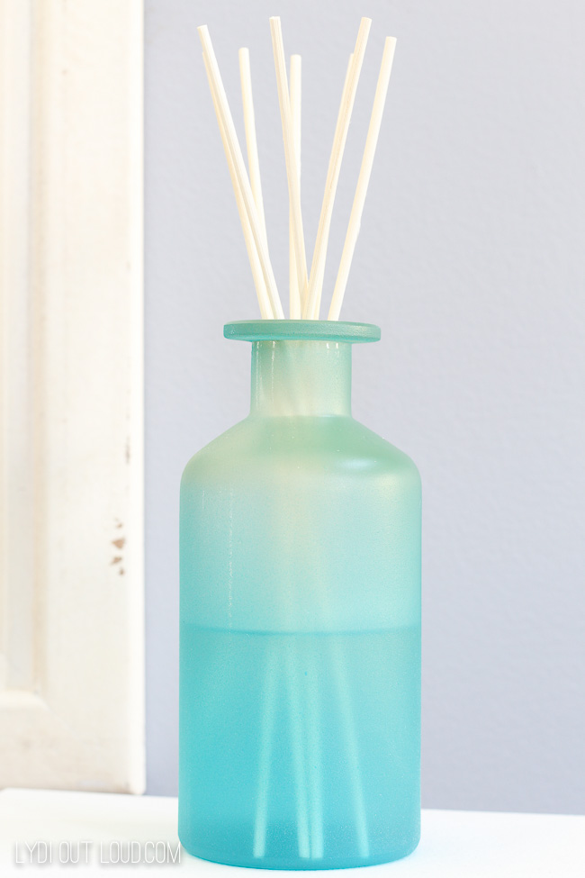 Glass Bottle Aromatherapy DIY Reed Diffuser