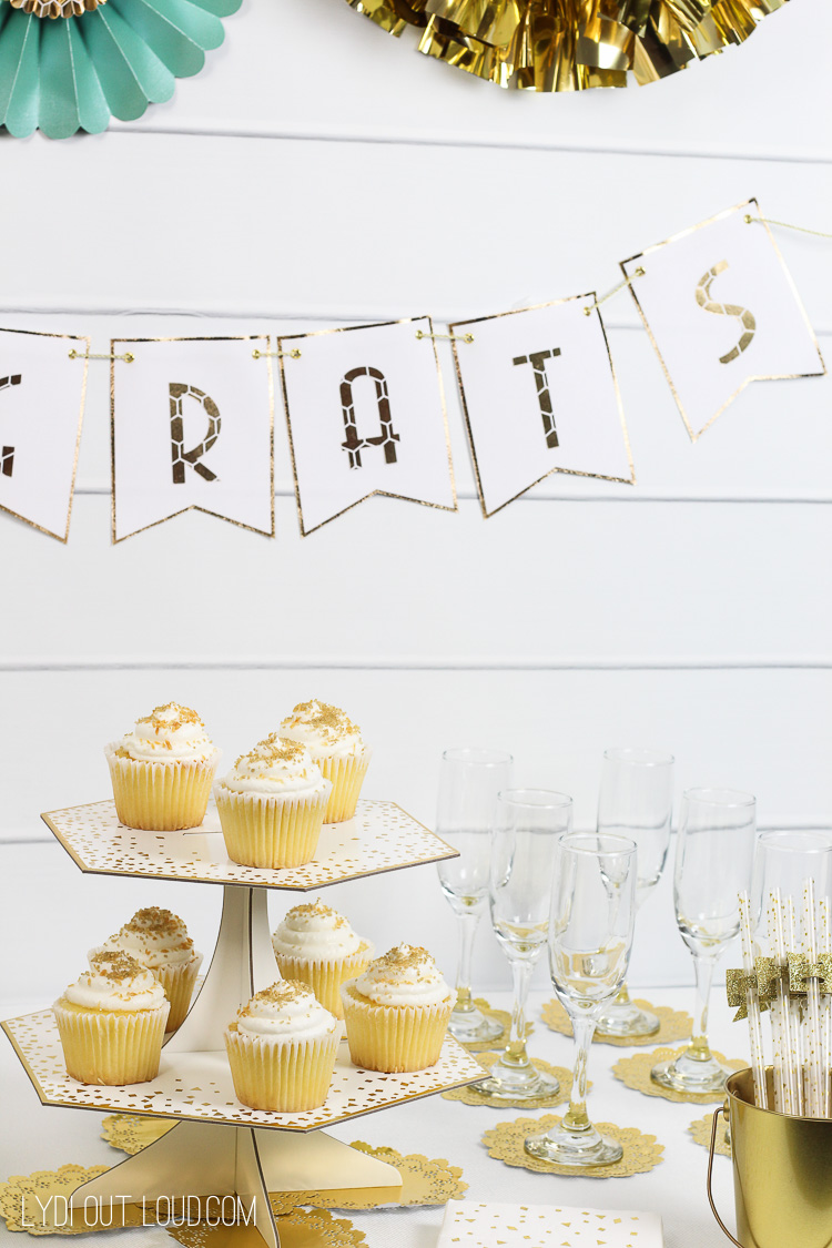 Gold Engagement Party Decorations - Martha Stewart
