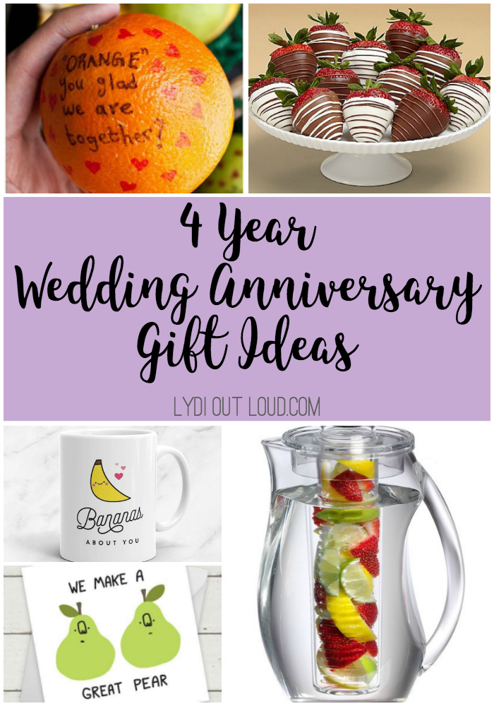 4 Year Wedding Anniversary Gift Wedding Photography