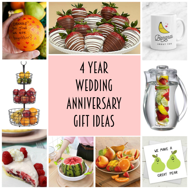 4 Year Anniversary Gift Ideas Lydi Out Loud