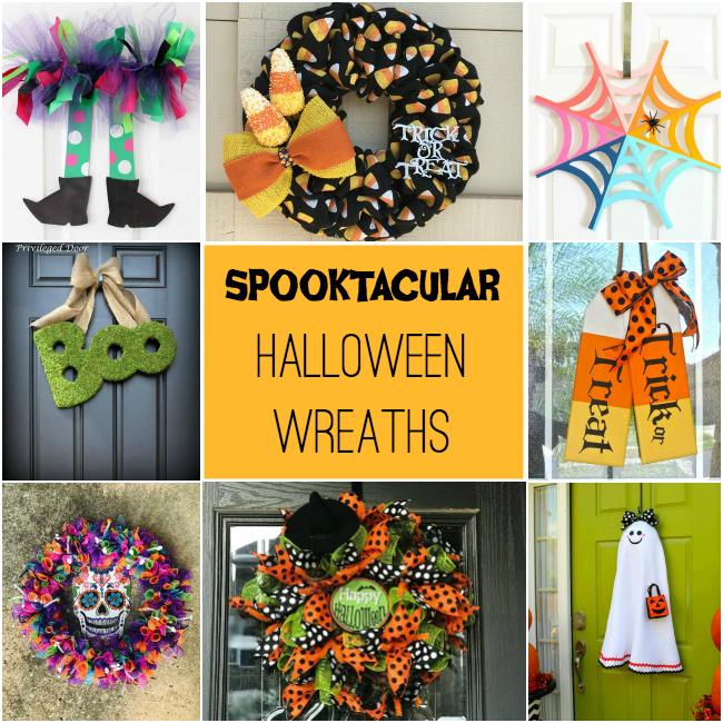 20 Halloween Wreaths to DIY or Buy