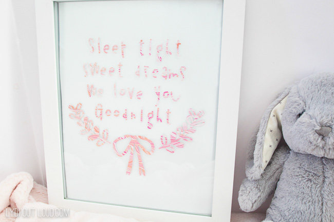 Sweet Dreams DIY Nursery Sign