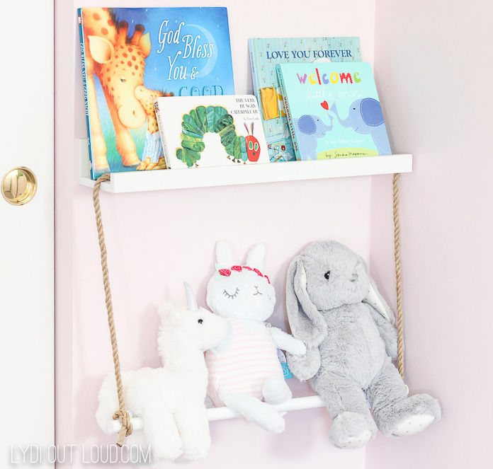 Simple and decorative DIY Nursery Storage Ideas