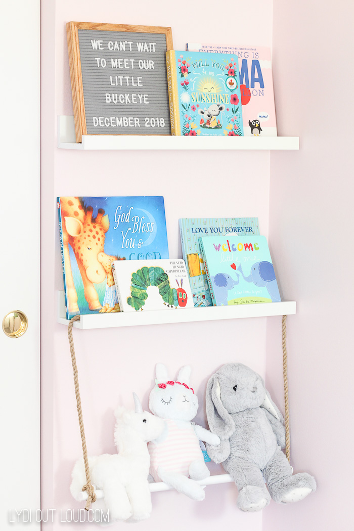 Simple DIY Nursery Storage Ideas