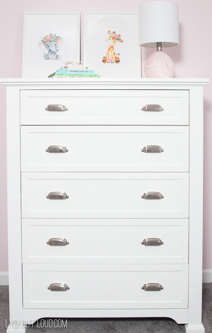 Nursery Furniture Reveal for the One Room Challenge