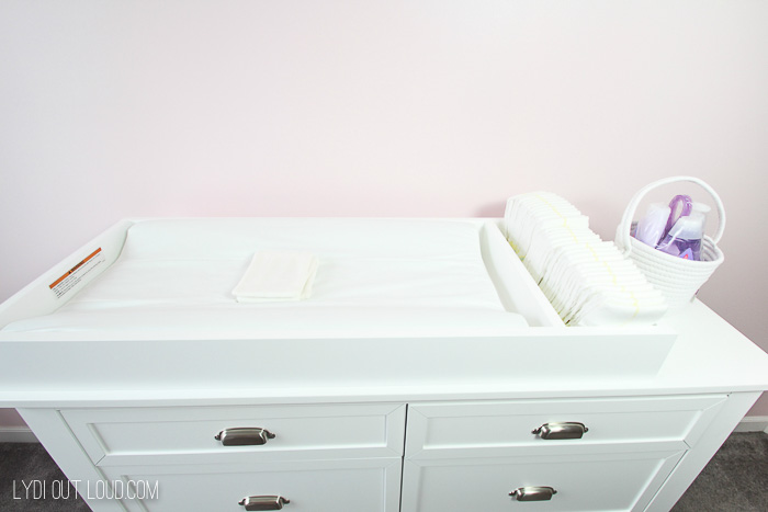 Convertible Changing Table