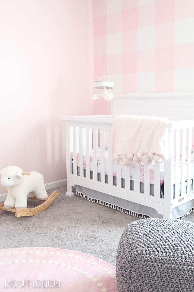 Girl Nursery Makeover