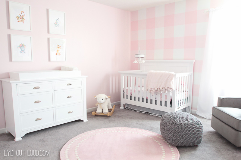 Girl Nursery Reveal