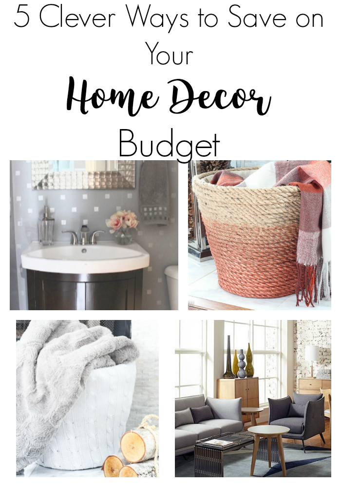 5 Clever Ways to Save Your Home Decor Budget via @lydioutloud
