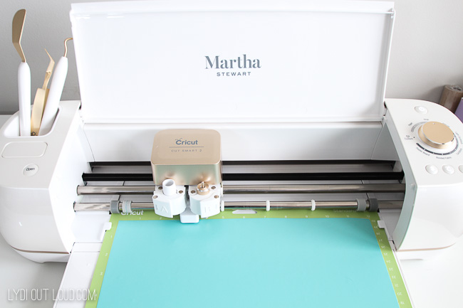 Martha Stewart Cricut cutting machine