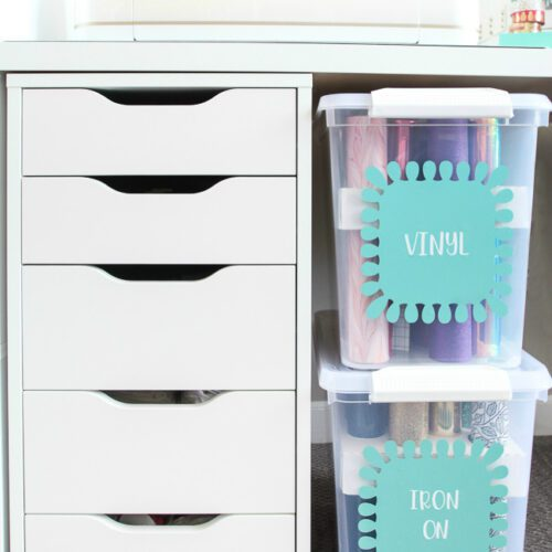 Cricut Supply Organization station