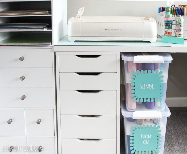 Cricut organization