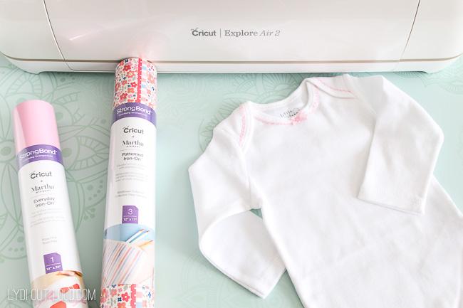Easter onesie supplies