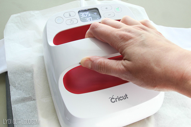 How to use the Cricut EasyPress