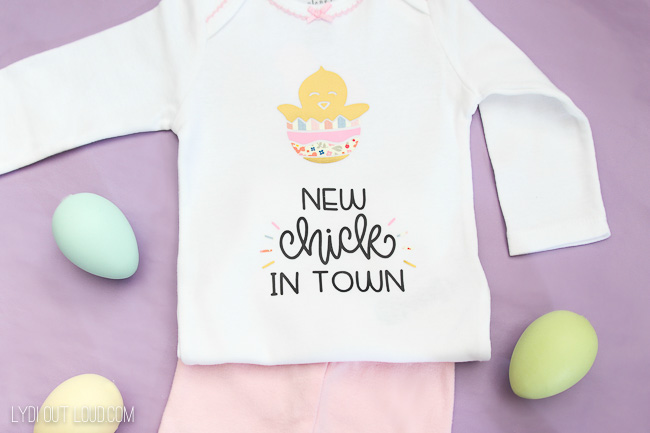 So cute! Baby's First Easter Onesie