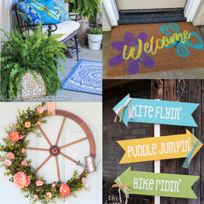 Spring Porch Decor Ideas