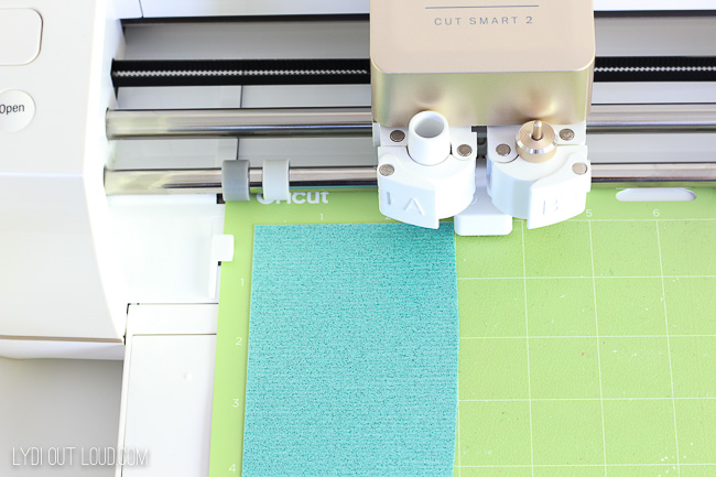 How to cut cricut iron-on