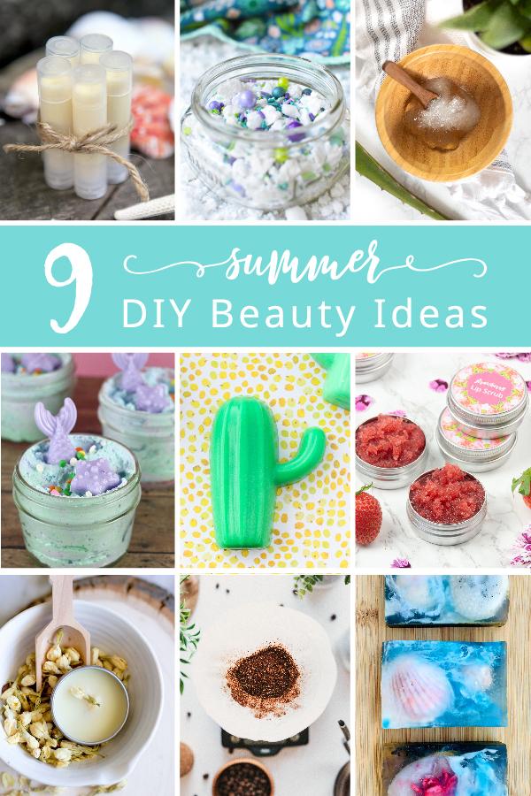 9 Fantastic Summer Beauty DIY's!