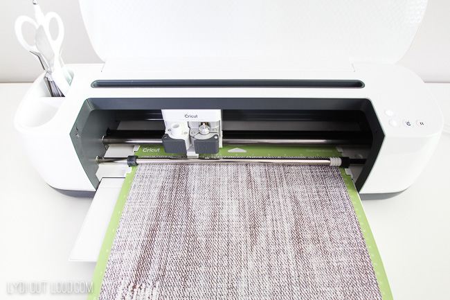 how to cut cricut infusible ink