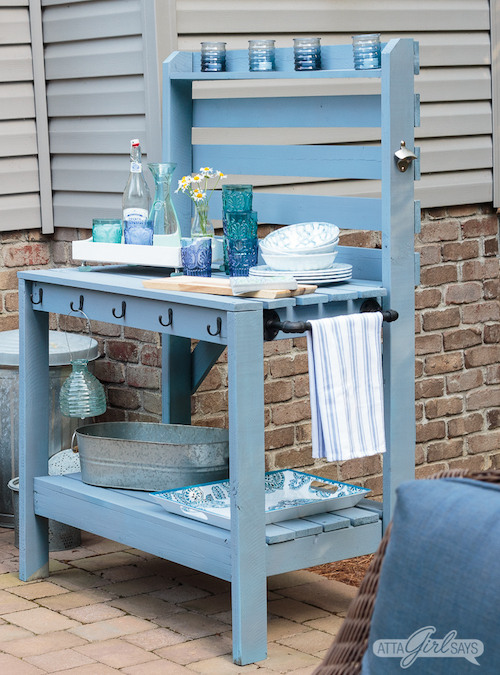Outdoor Furniture Makeover - Atta Girl Says