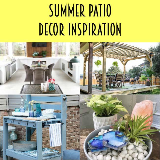 Summer Patio Decor Inspiration