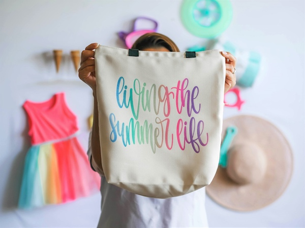 Living the Summer Life Tote