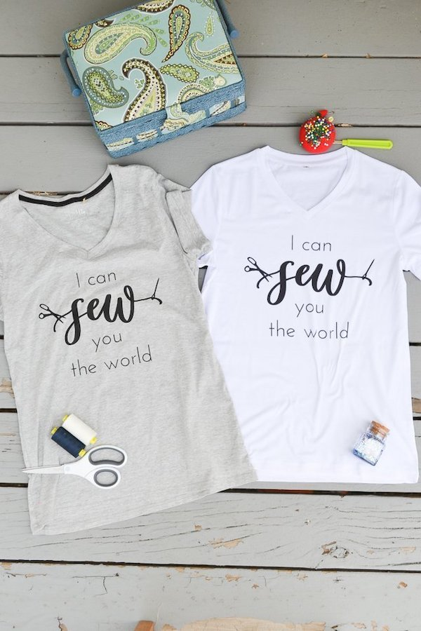 I Can Sew You the World T-shirt