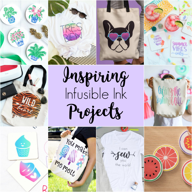 Inspiring Infusible Ink Projects