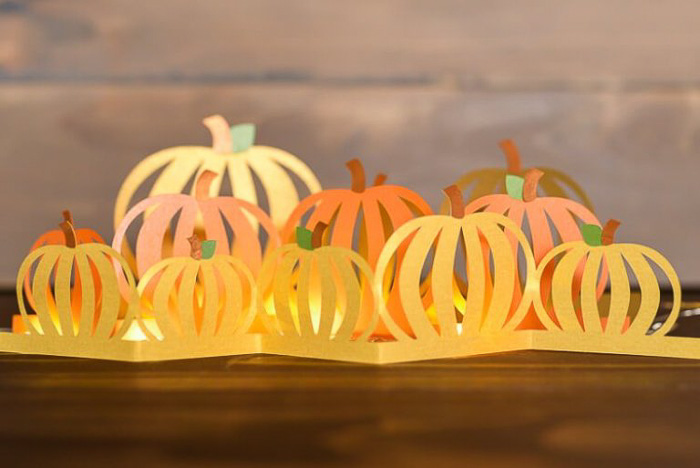 DIY Pumpkin Luminaria