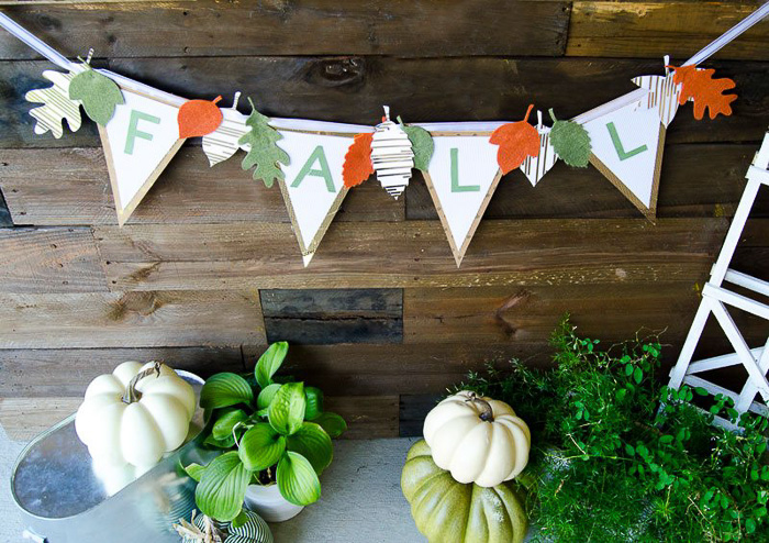 DIY Fall Banner - Love the Day