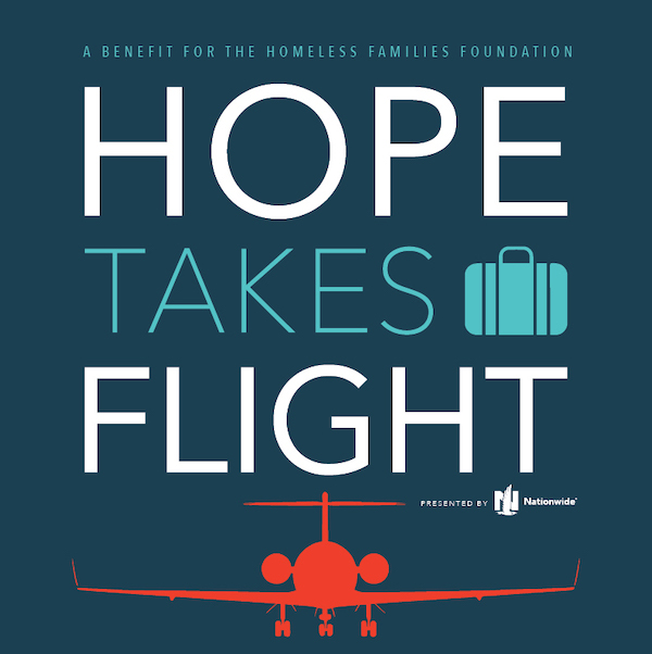Hope Takes Flight event giveaway