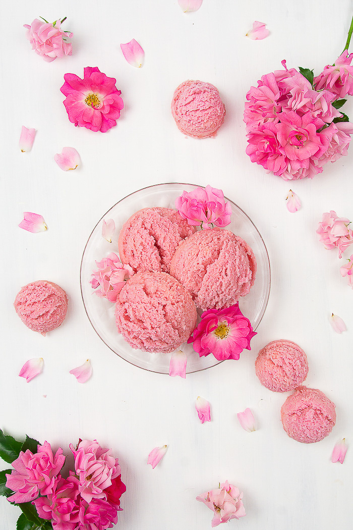DIY Rose Bath Scoops