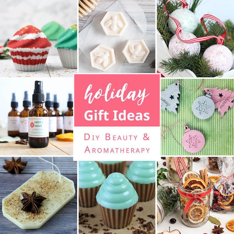 DIY Beauty and Aromatherapy holiday gift guide