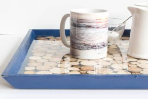 Driftwood and Resin Tray