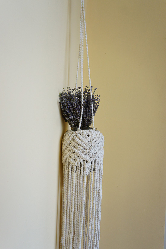 Bohemian Macrame Flower Holder