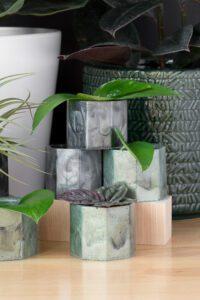 DIY Resin Planters