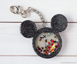 Mickey Mouse Shaker Charm