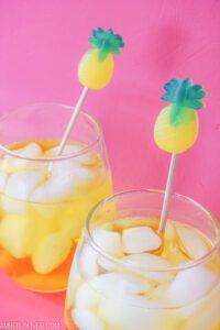 Resin Pineapple Drink Stirrers